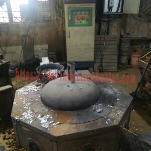 Aluminiomu induction smelter