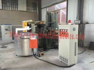 Aluminium induction smelter