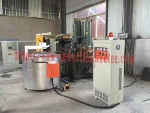Aluminum induction smelter