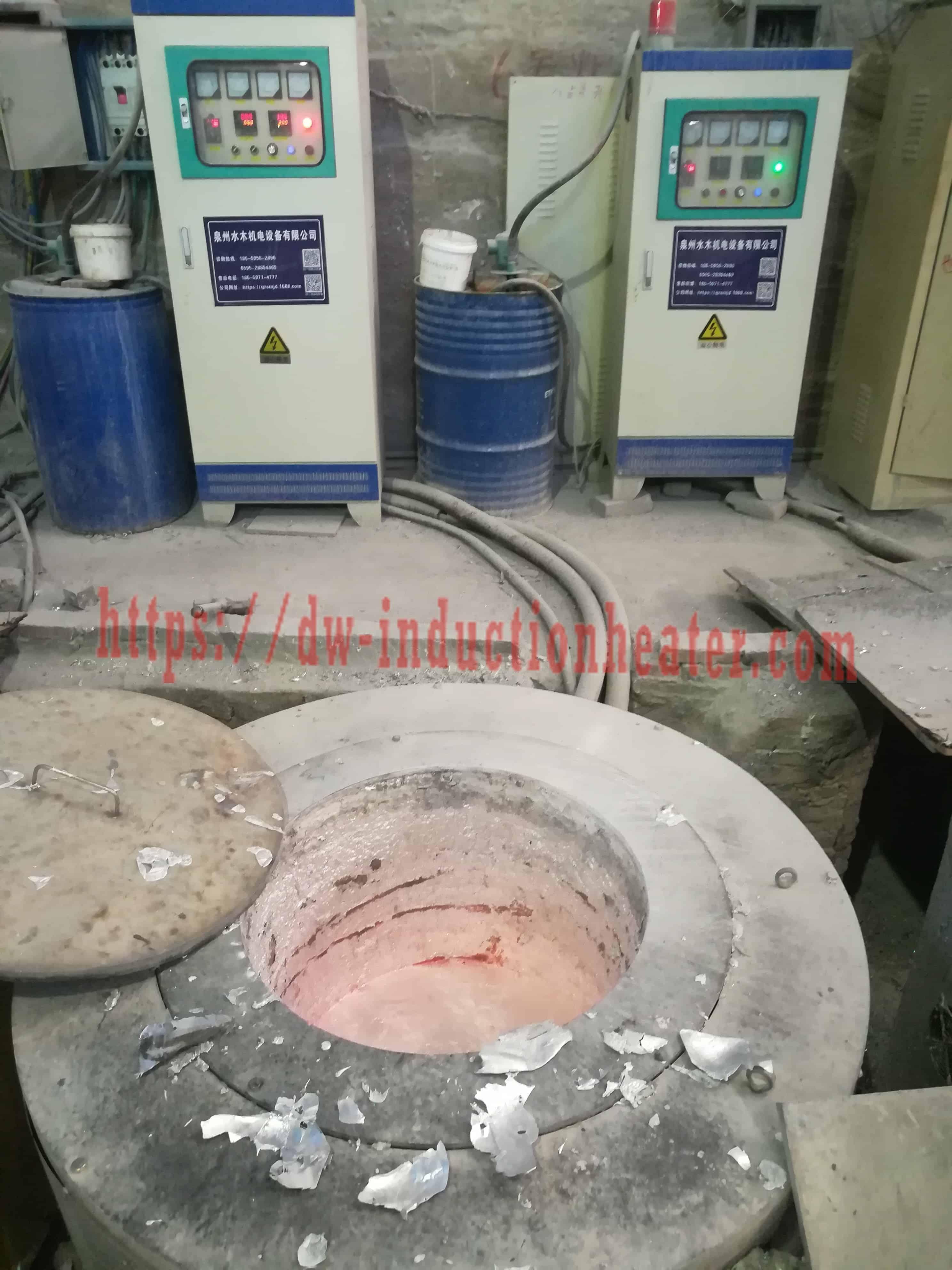 Aluminum Melting Crucible Furnace-Aluminum Smelting Crucible