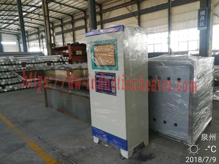 Aluminum smelting induction furnace