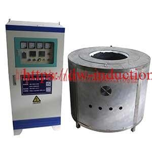 Mid Frequency aluminium melting furnace