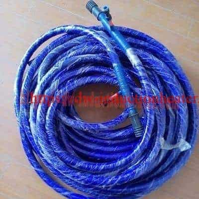 water cooled flexible cable coil