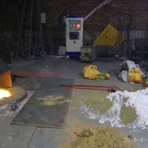 four en laiton de fonte d'induction