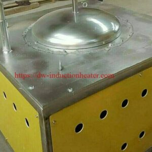 induction melting brass rauv