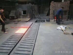 forno de fusão latão de indução