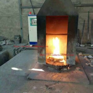 Copper scrap melting furnace
