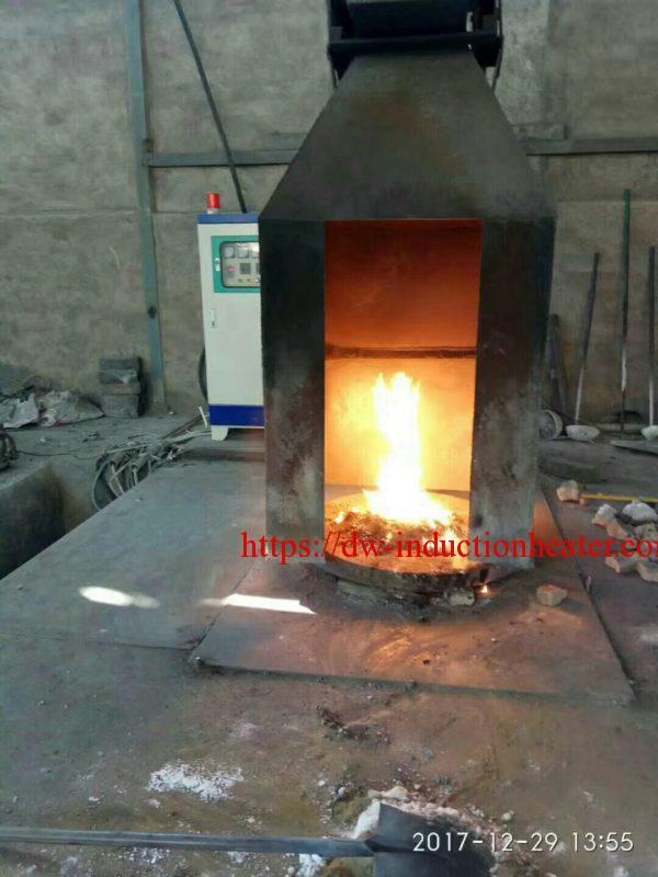 Copper scrap melting furnace