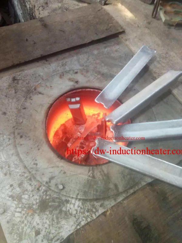 forn de fusió de reciclatge d'alumini