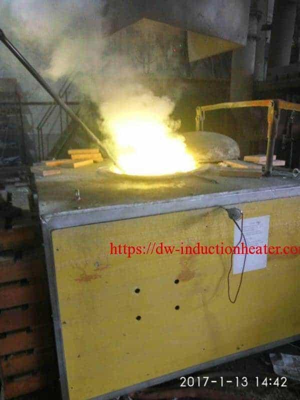 brass scrap melting furnace