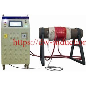 Induction post weld heat heat treatment machine