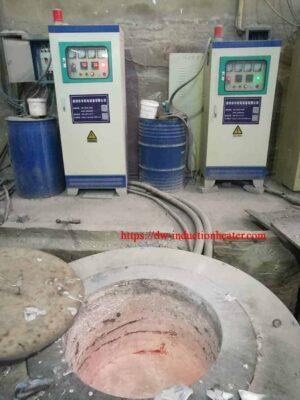 aluminium smelt inductie oven