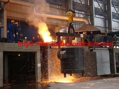 cast iron melting furnace-induction furnace cast iron melting