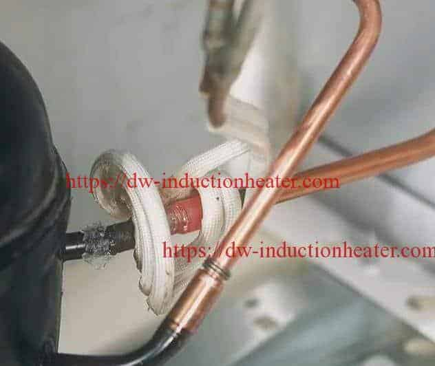 ຊິ້ນສ່ວນ Induction-Brazing-of-Refrigerator -