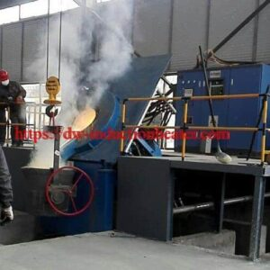 iron steel scrap melting furnace