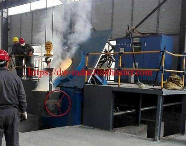 Horno de fusión de chatarra de aceiro de ferro