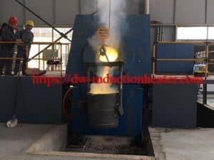 forno de derretimento de aço inoxidável da fornalha-indução forno de derretimento de aço inoxidável