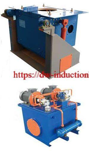 forno de indução de ferro de aço de derretimento