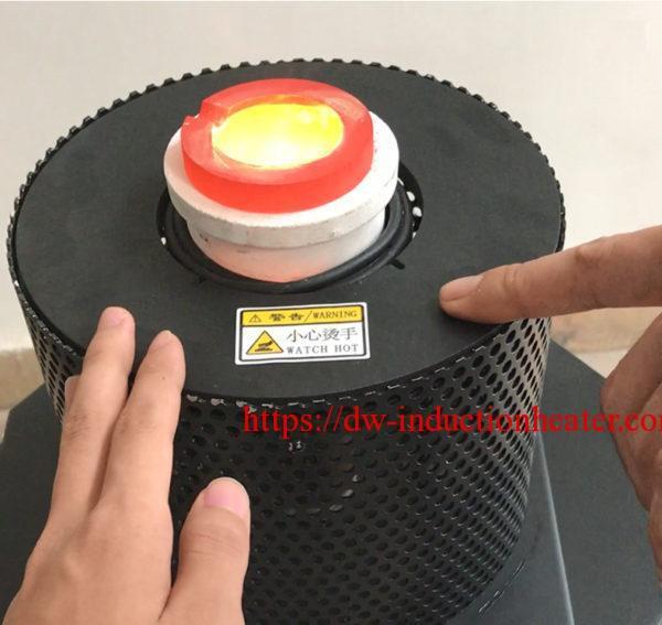 mini nga alahas nga natunaw sa induction furnace