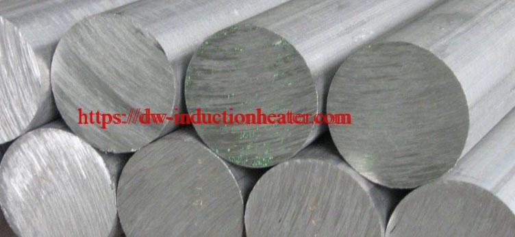 aluminium billet heating process