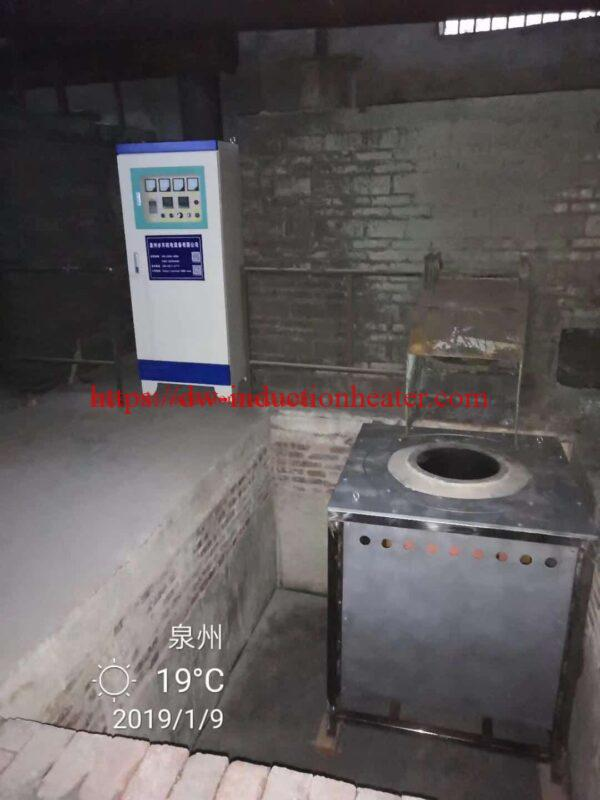 aluminum scraps recycling melting furnace