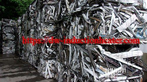 scraps aluminium recycling melting process
