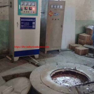 induction aluminuim recycling furnace