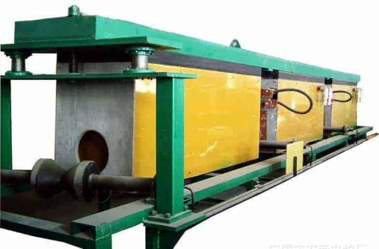 pemanasan bilet induksi untuk membentuk tembaga / aluminium / besi yang panas