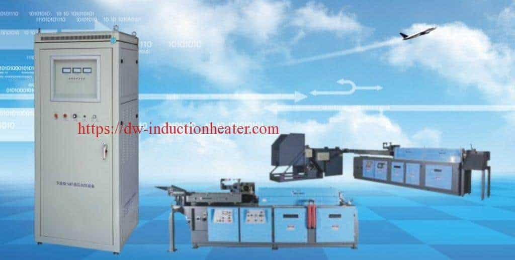 induction forge heating furnace for copper/brass/aluminum/iron steel hot forming