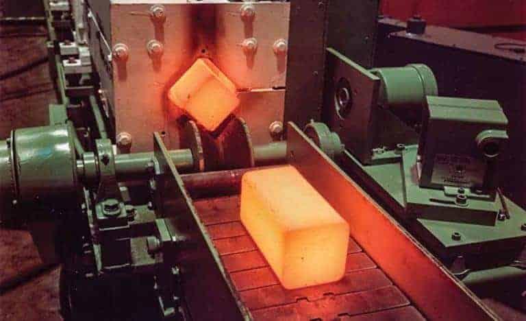 誘導鉄鋼ビレットヒーター