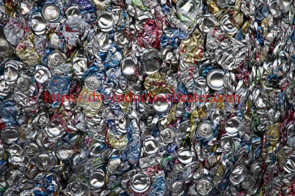 aluminum cans recycling melting furnace