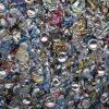 алуминиеви кутии, рециклиращи пещта за топене