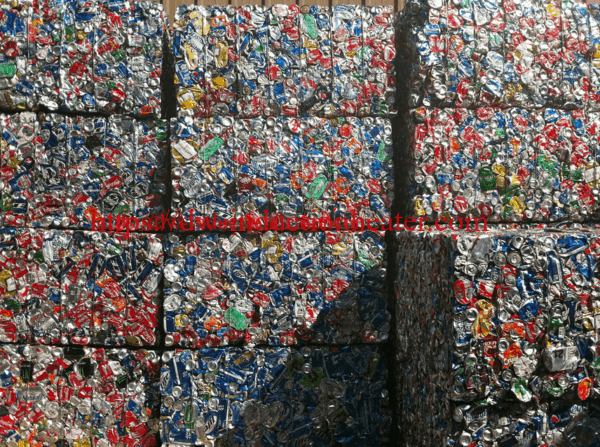 induction aluminum cans recycling melting