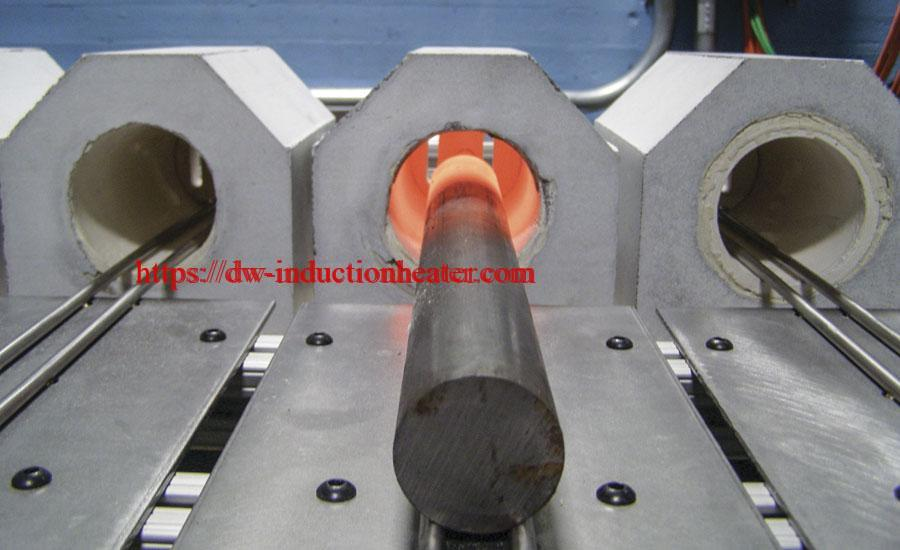 Induction Bar End Heating Coils