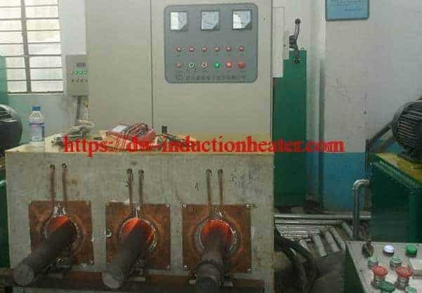 Induction Bar End Heating Machine