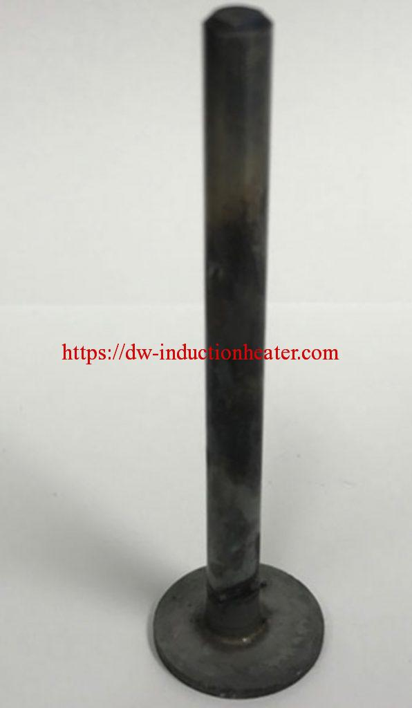 Induction brazing steel parts