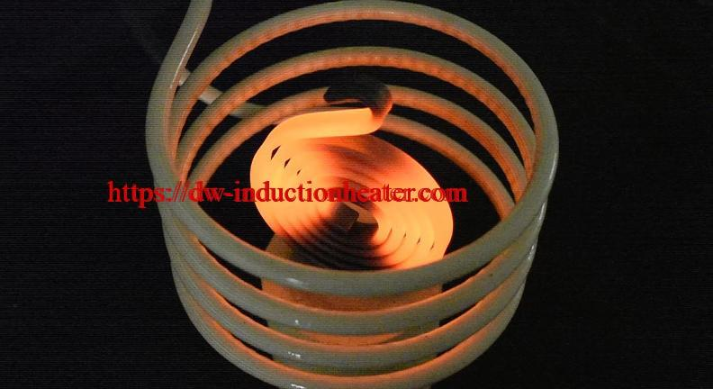 induction hardening steel part