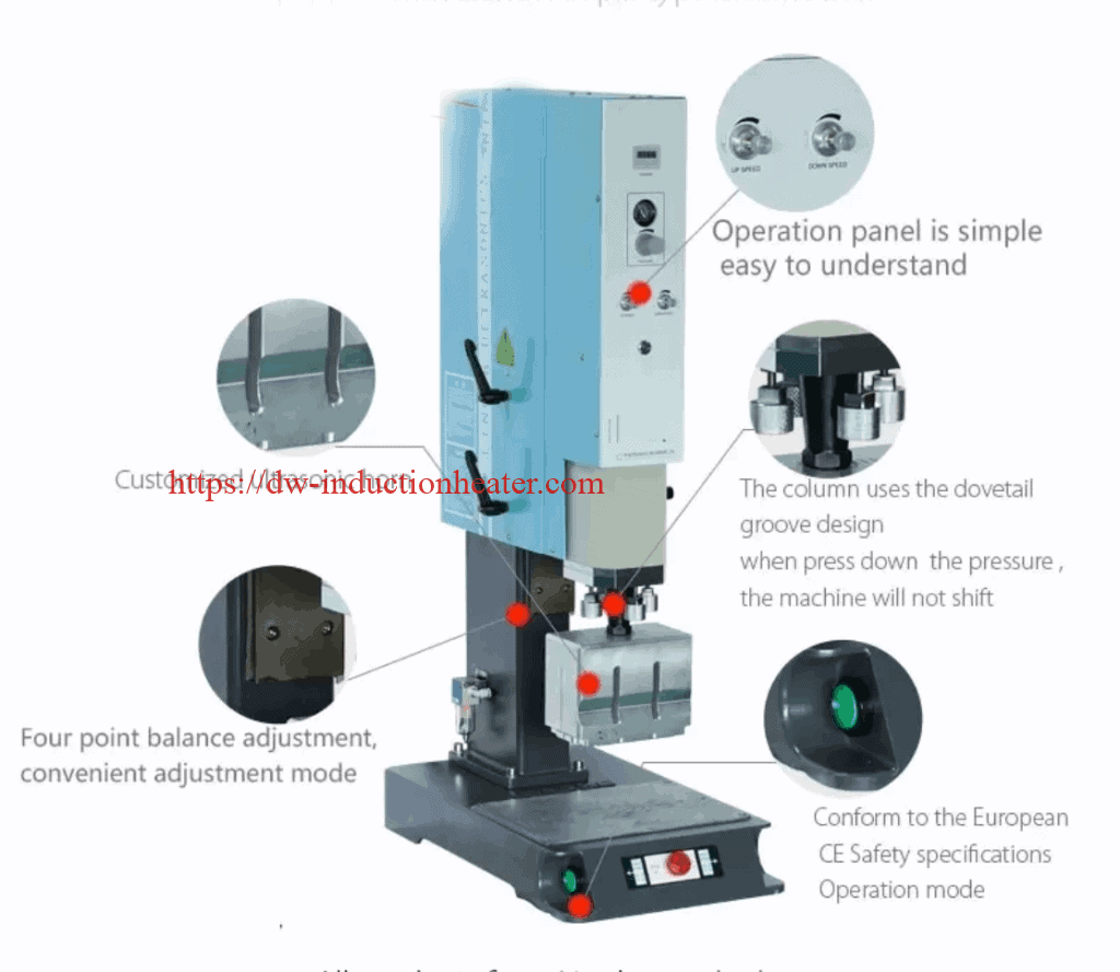 ultrasonic plastic welding machine-ultrasonic plastic welder