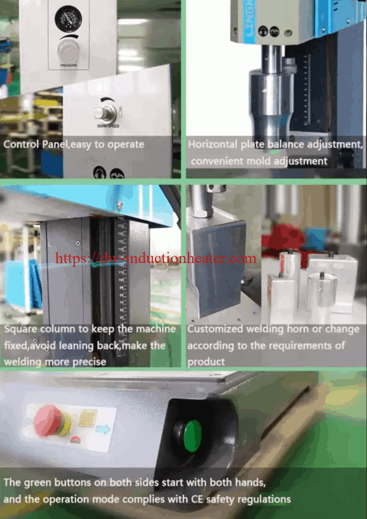 ultrasonic welding plastiki muchina
