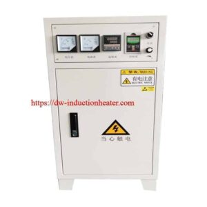magnetic induction heater for pipeline preheating