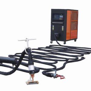 mașină de îndepărtare a căldurii cu inducție de plastic